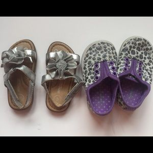 Other - 2 pair infant shoes size 4